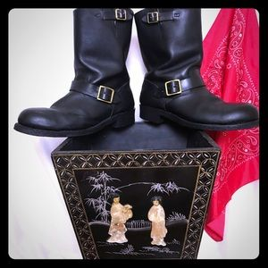 Other - IronAge_Men Leather Engineer_Motorcycle Boots_12 E
